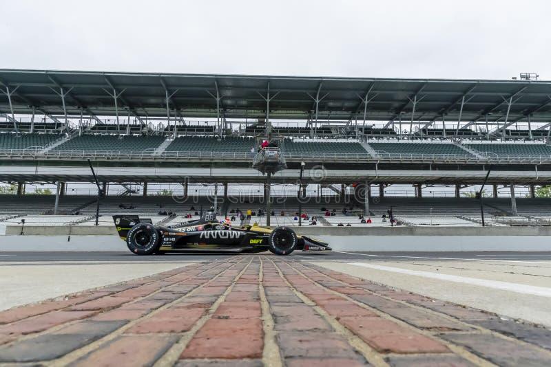 IndyCar: Maj 10 IndyCar Grand Prix av Indianapolis royaltyfri foto