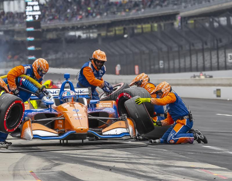 IndyCar: Maj 11 IndyCar Grand Prix av Indianapolis arkivfoton