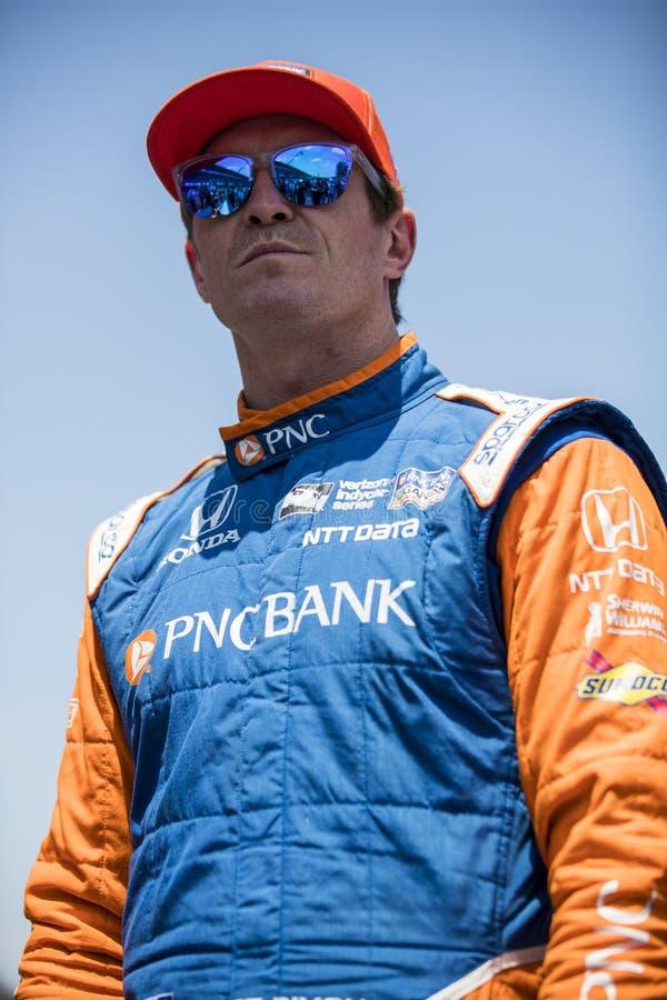 IndyCar: Maj 25 Indianapolis 500 fotografia royalty free