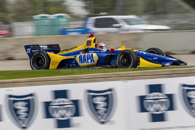 IndyCar:  May 31 Detroit Grand Prix stock photo