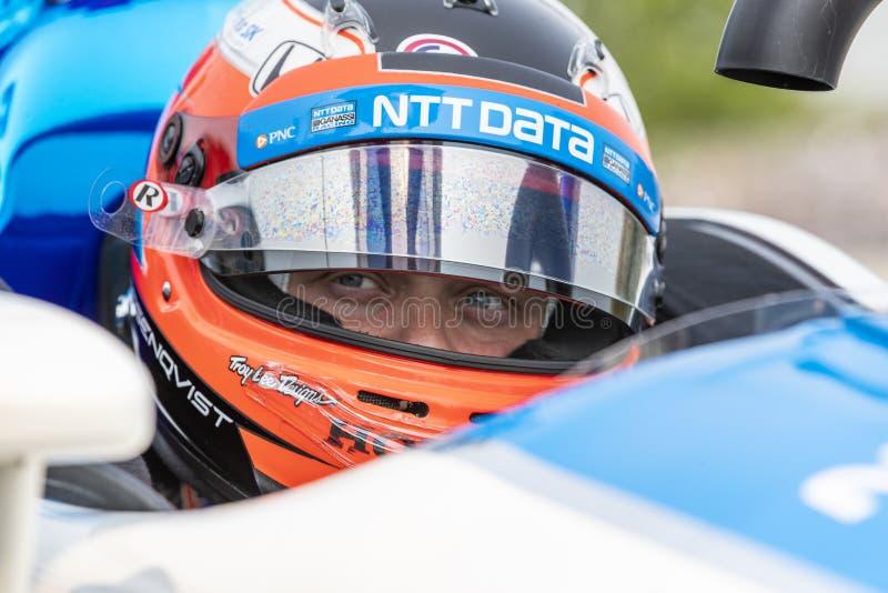 IndyCar:  May 31 Detroit Grand Prix stock photos