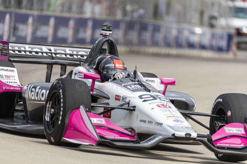 IndyCar:  May 31 Detroit Grand Prix stock images