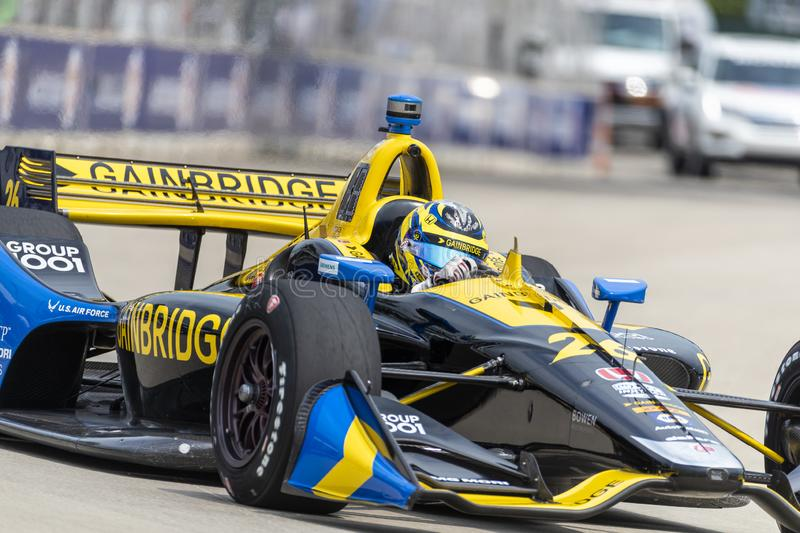 IndyCar:  May 31 Detroit Grand Prix royalty free stock images
