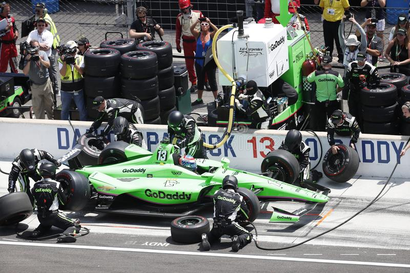 IndyCar: 27 mei Indianapolis 500 stock foto's