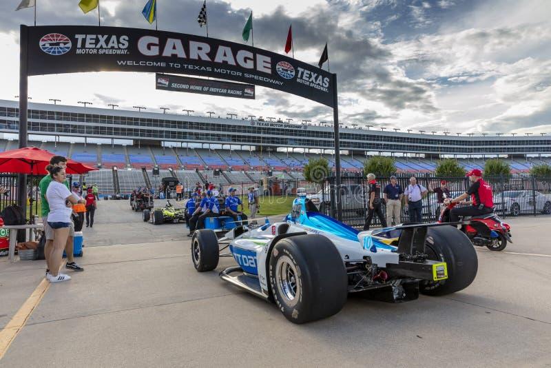 IndyCar: Tecnologia 600 do 6 de junho DXC foto de stock