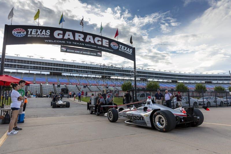 IndyCar: Tecnologia 600 do 6 de junho DXC fotografia de stock