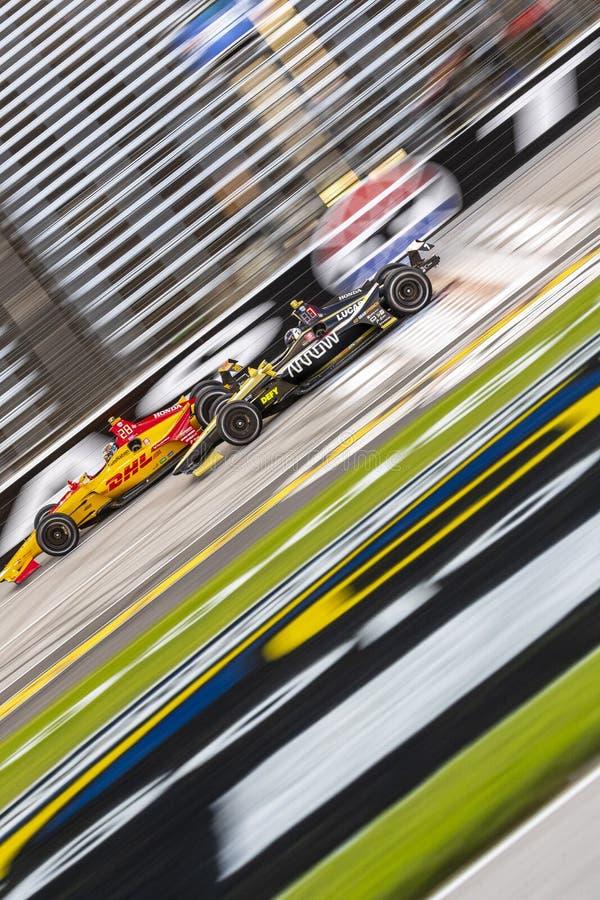 IndyCar: Tecnologia 600 do 6 de junho DXC fotos de stock royalty free