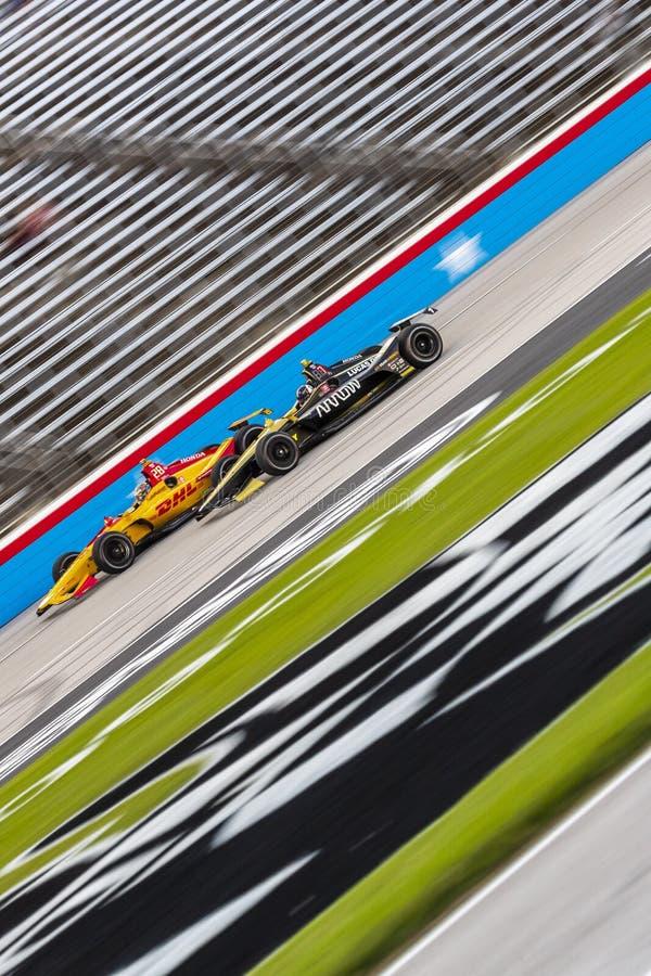 IndyCar: Tecnologia 600 do 6 de junho DXC imagem de stock royalty free