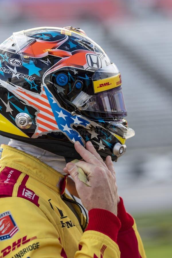 IndyCar: Tecnologia 600 do 6 de junho DXC fotos de stock