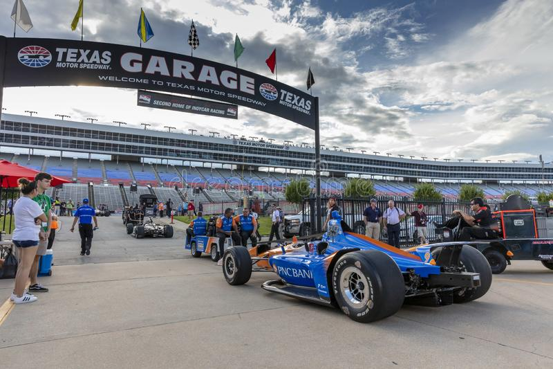 IndyCar: Tecnologia 600 do 6 de junho DXC imagem de stock