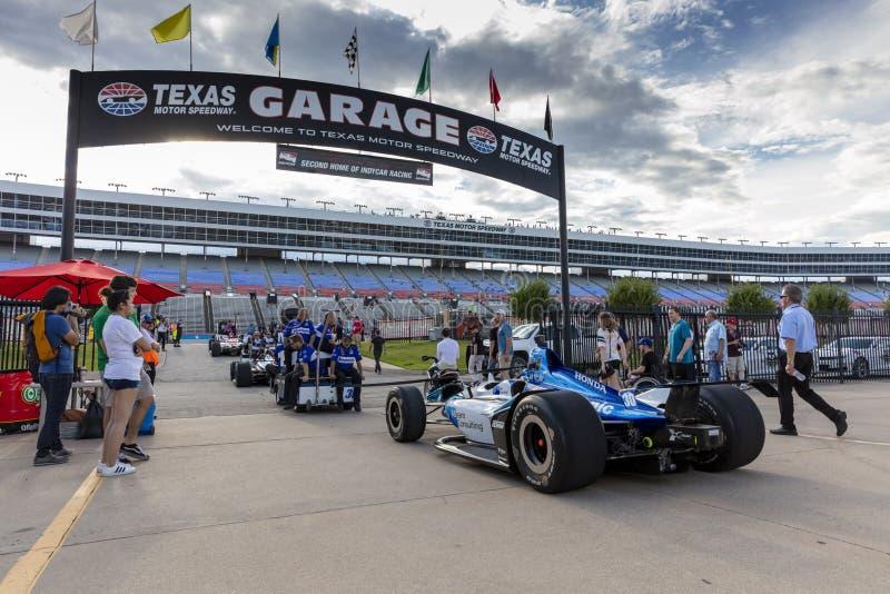 IndyCar: Tecnologia 600 do 6 de junho DXC imagens de stock