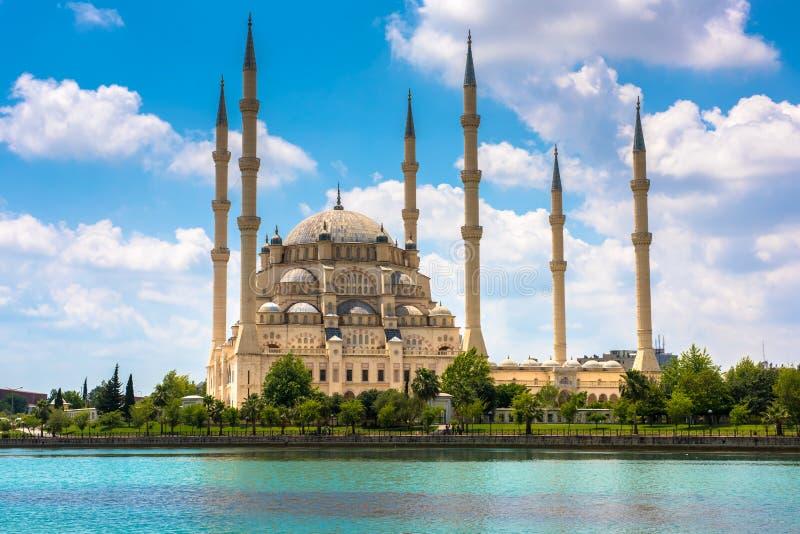 Indyczy Adana Sabanci centrali meczet obrazy royalty free
