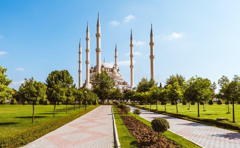 Indyczy Adana Sabanci centrali meczet obrazy stock