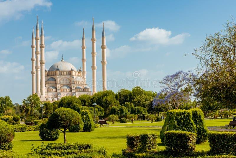 Indyczy Adana Sabanci centrali meczet obraz royalty free
