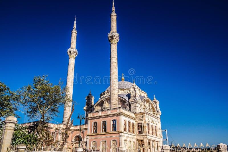 Indyczy Ortakoy meczet fotografia stock