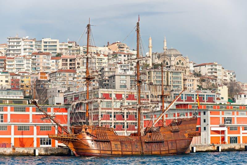 indyczy starzy Istanbul statki zdjęcia stock