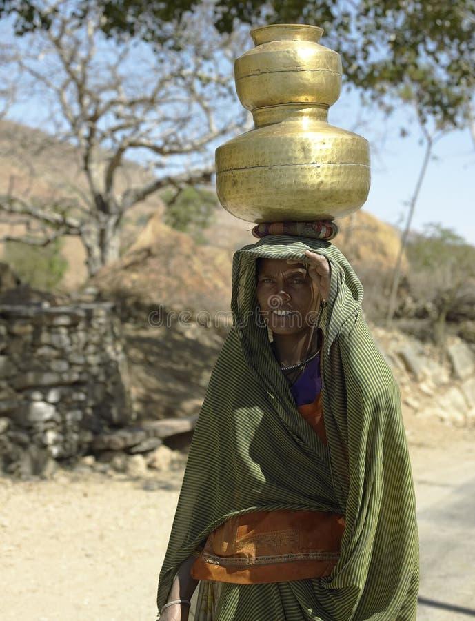 indyjska ind dama Rajasthan obrazy royalty free