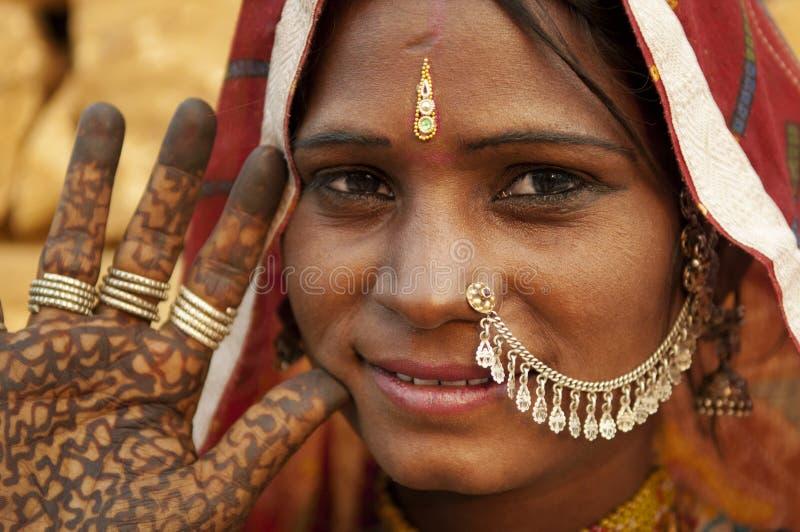 indyjska kobieta obraz stock