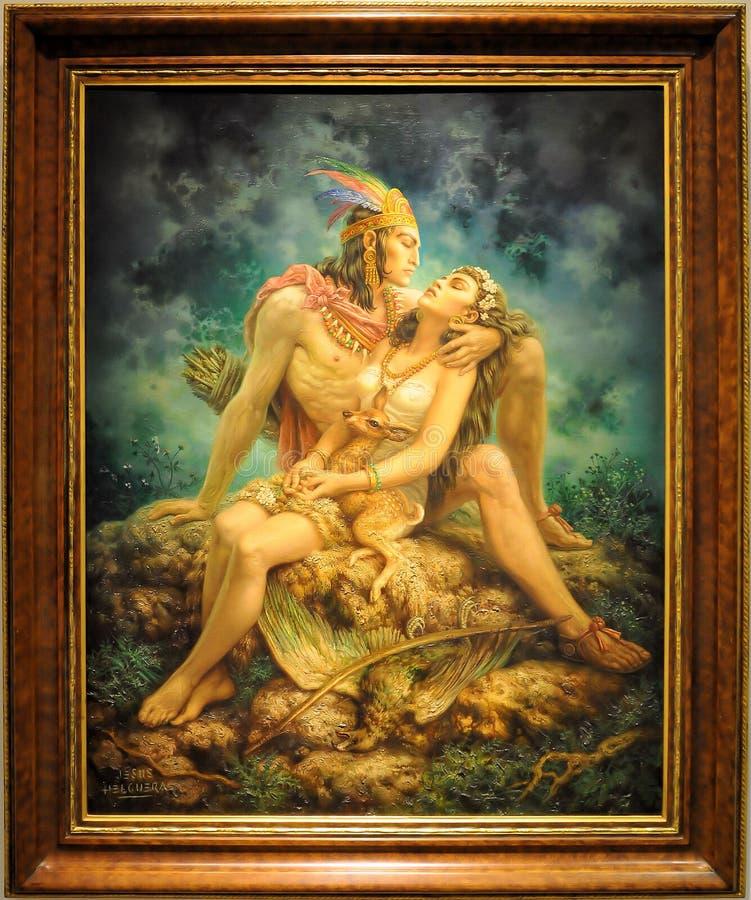 indyjska miłość obraz stock