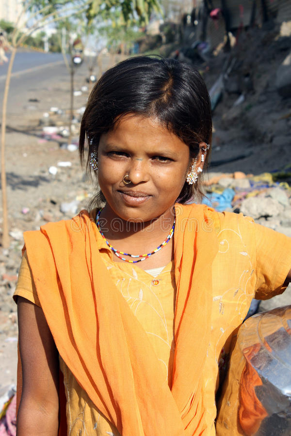 indyjski biedny nastolatek zdjęcia royalty free