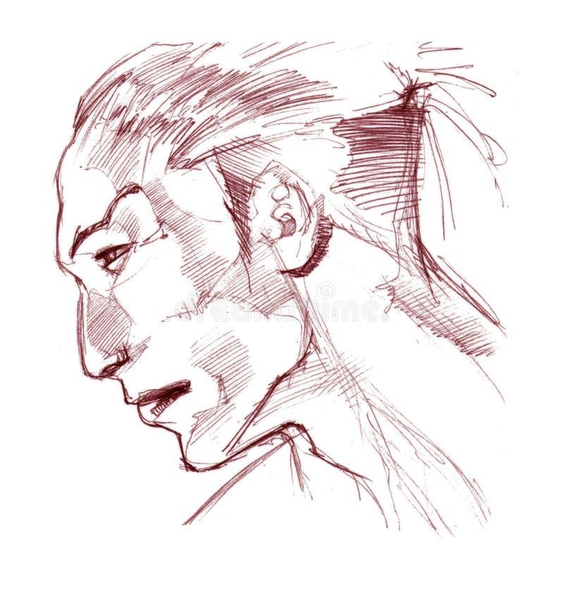 indyjski mężczyzna ilustracji