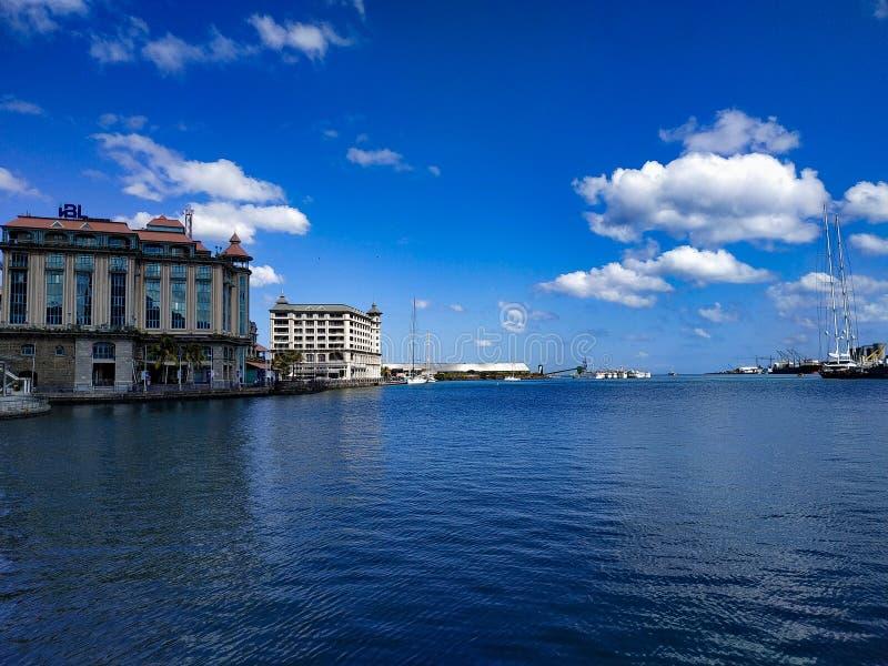 Indyjski Ocean Spokojny Port Louis Mauritius obraz royalty free
