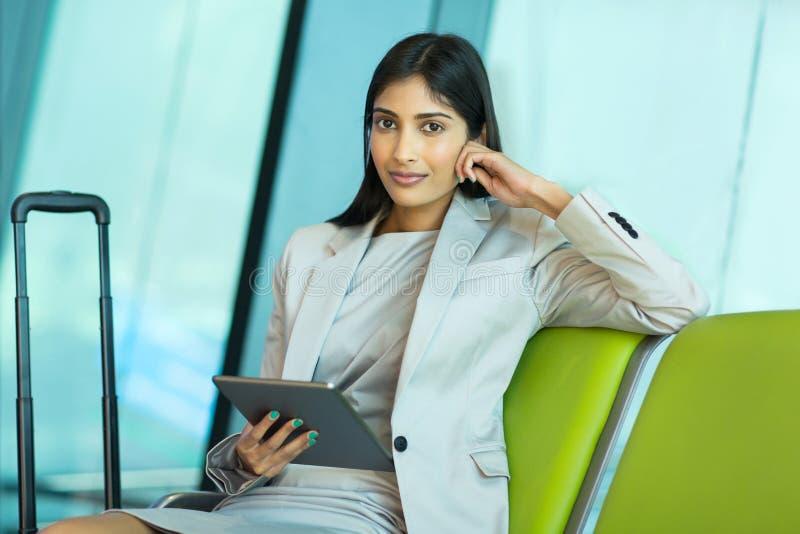 indyjski osoba w podróży służbowej lotnisko fotografia royalty free