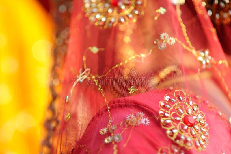 indyjski sari zdjęcia royalty free