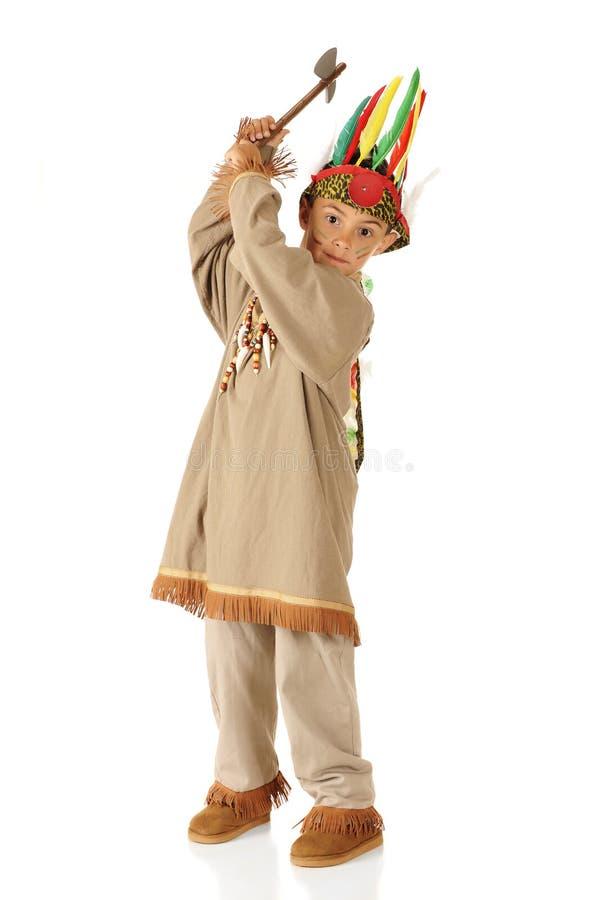 indyjski tomahawk zdjęcia royalty free