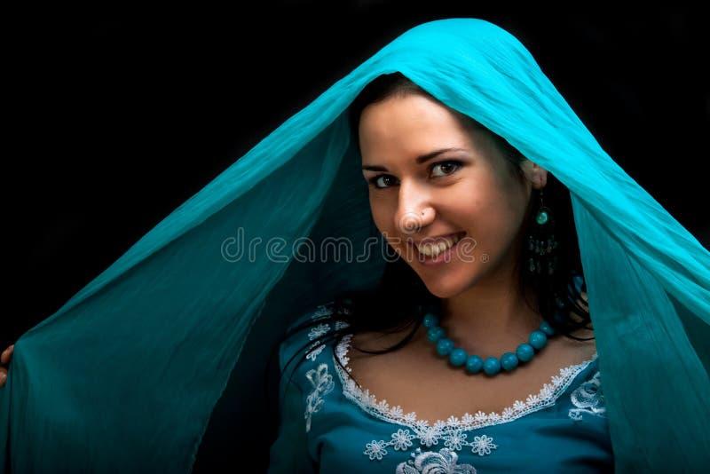 indyjski uśmiech zdjęcie stock