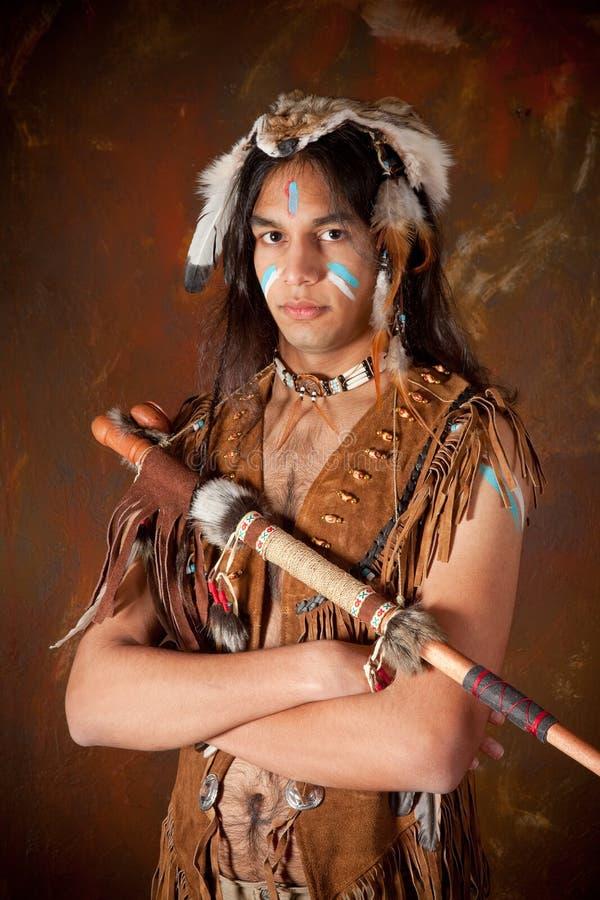 indyjski wojownik zdjęcia stock