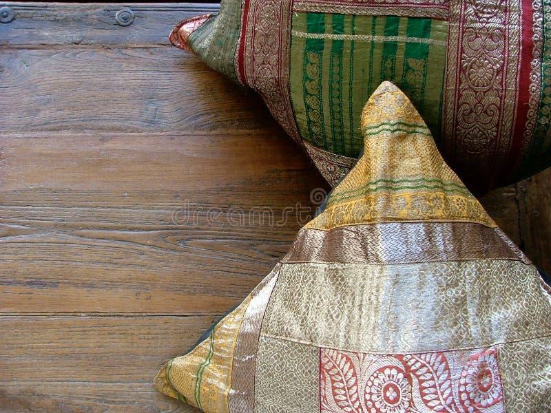 indyjskie poduszki obrazy royalty free