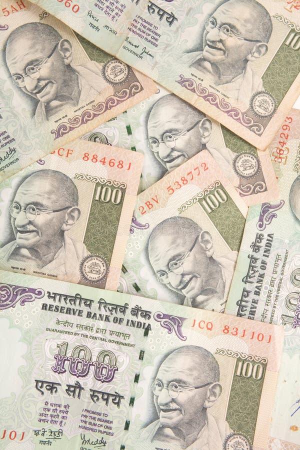 indyjskie rupii zdjęcie stock
