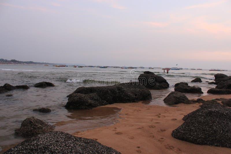 Indyjskie wybrzeże oceaniczne obrazy royalty free