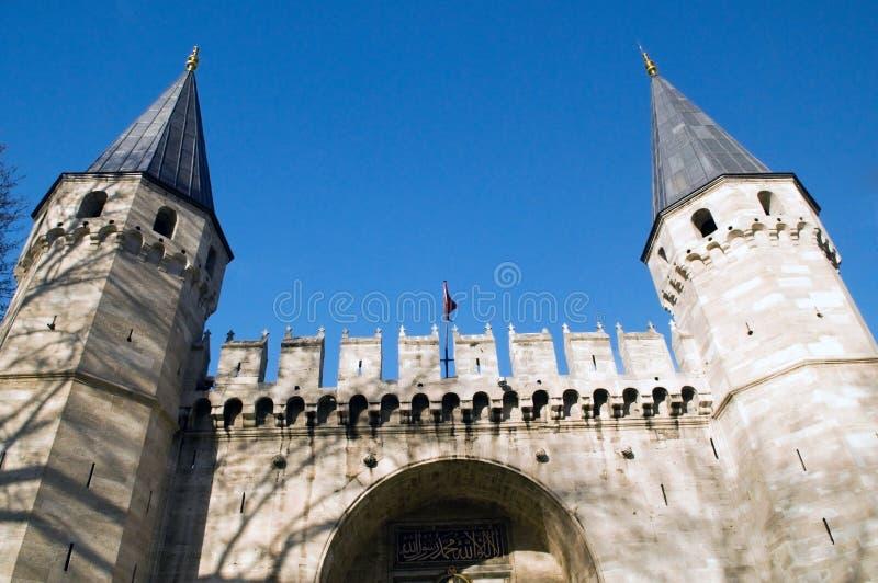 indyk topkapi istanbul pałacu zdjęcia stock