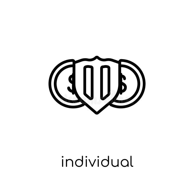 Indywidualna oszczędzania konta ikona (Isa)  ilustracja wektor