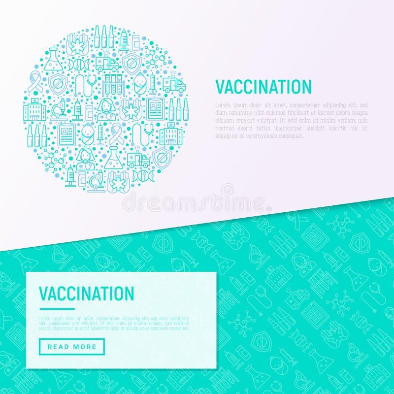 Inentingsconcept in cirkel met dunne lijnpictogrammen vector illustratie