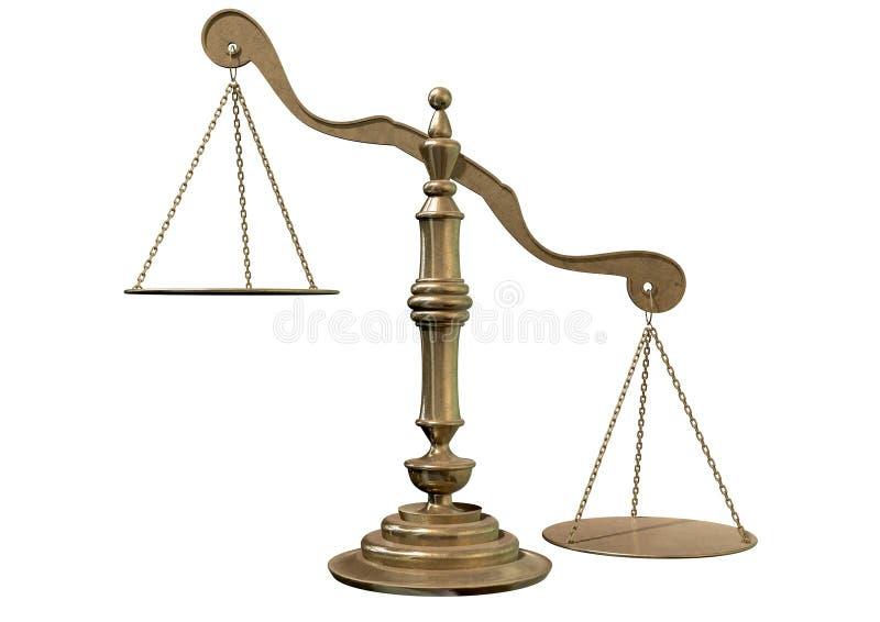 Inequality Scales stock illustration