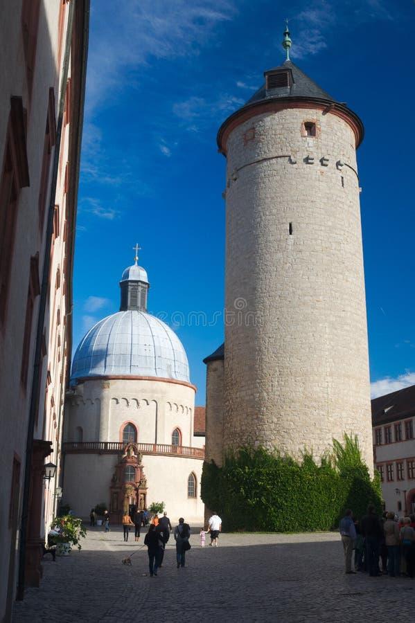 Inerior Würzburg Fort stockbild