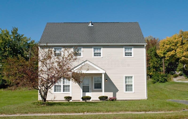 Inexpensive Economy House stock images