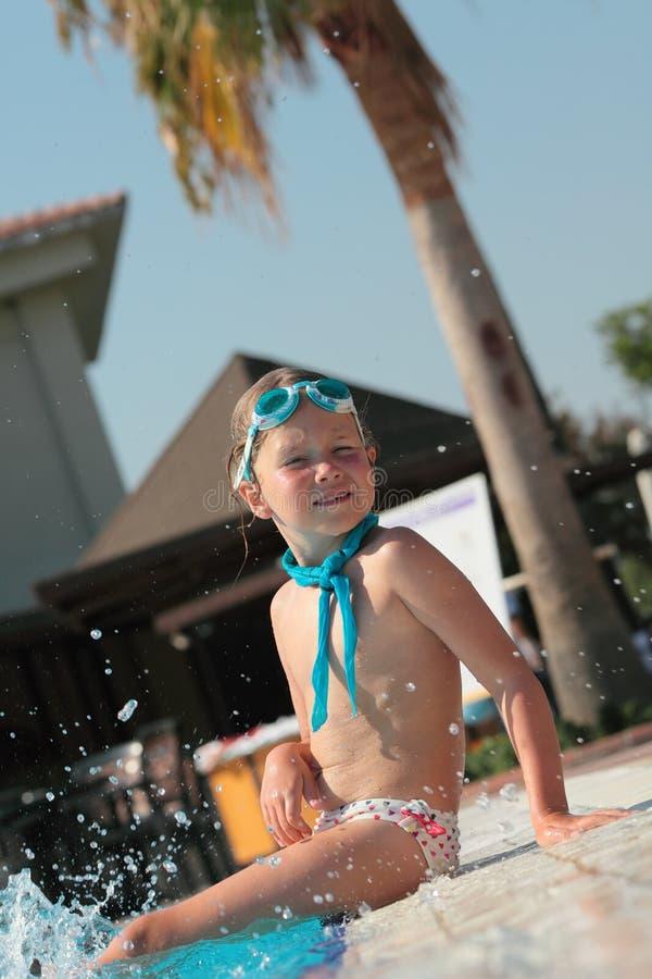 Infância feliz foto de stock royalty free