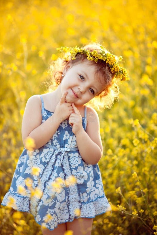Infância feliz fotos de stock royalty free