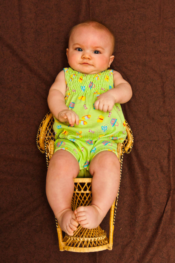 Download Infant Girl stock image. Image of colour, month, colours - 23250697