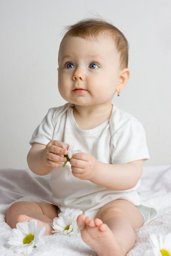 Infant Girl royalty free stock image