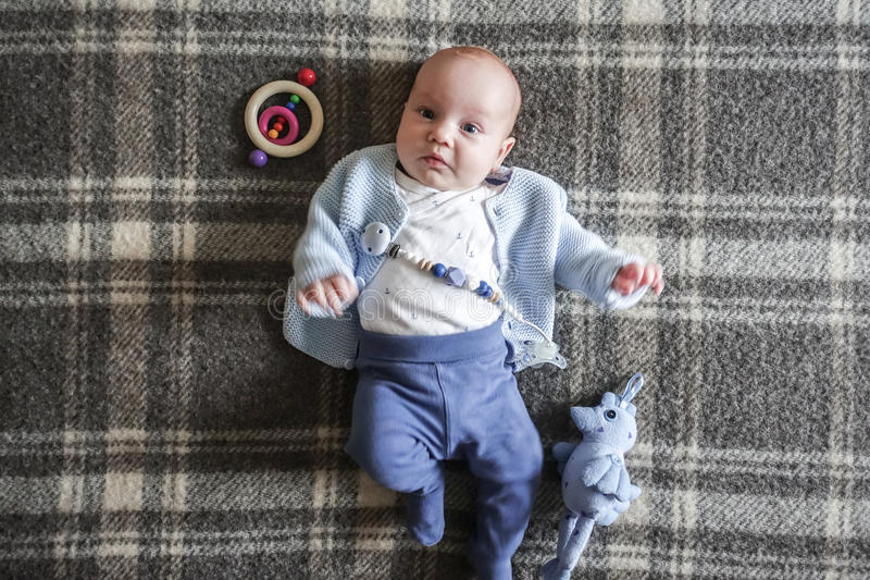 Infant three month old royalty free stock photo