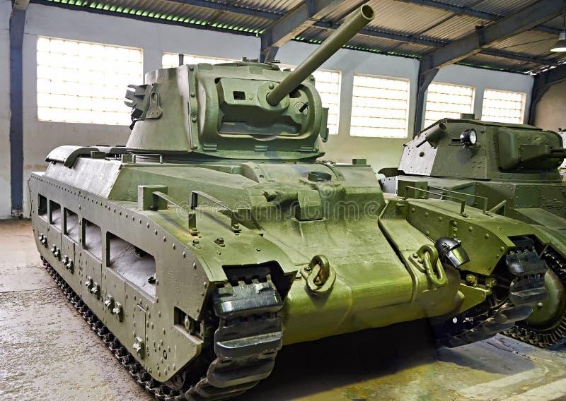 Infantería británica Mk del tanque II CS de Matilda III fotos de archivo