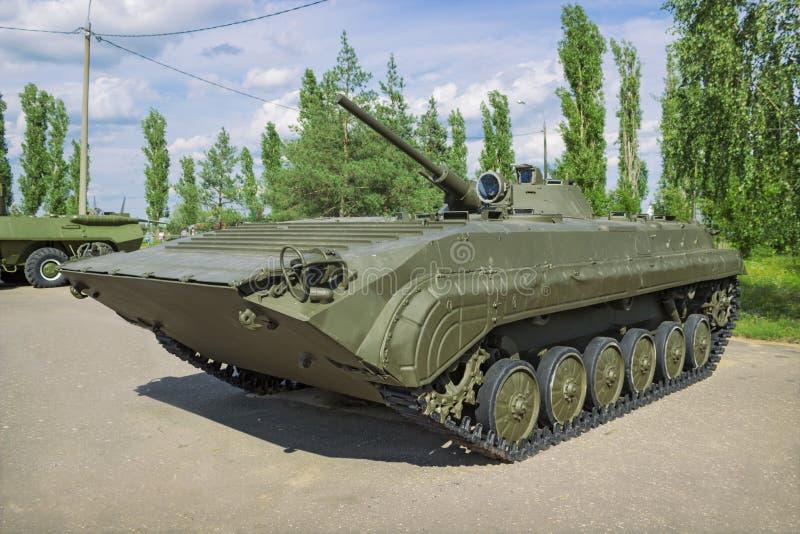 Infantería soviética BMP-1 del coche del combate, producida a partir de 1966 imágenes de archivo libres de regalías