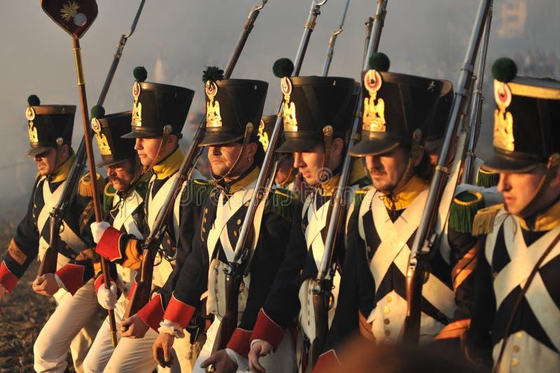Infanterie stock foto's