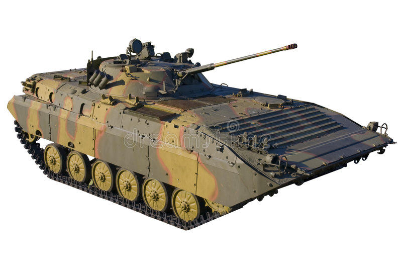 Infantry fighting vehicle BMP-2 stock photography