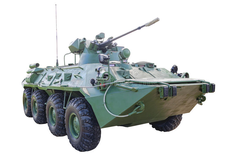 Infantry fighting vehicle royalty free stock images
